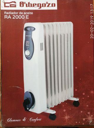 radiador de aceite / calefactor