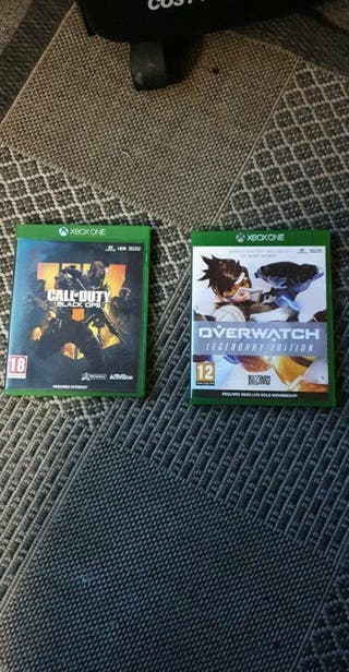 black ops 4 and overwatch