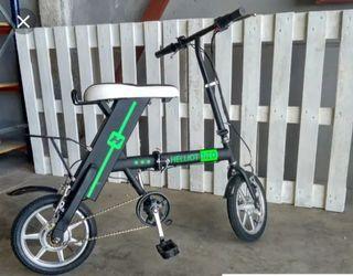 bici eléctrica plegable nueva