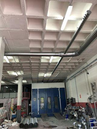 Ventilación y extraccion para locales ,talleres