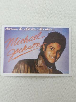 Michael Jackson cromo (súper éxito)
