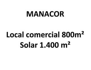 Local en venta en Manacor Centro en Manacor
