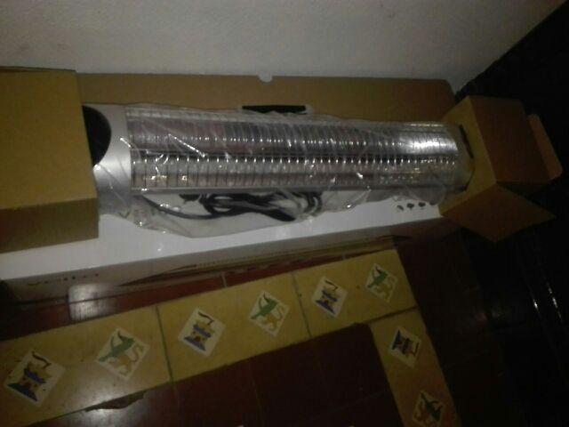 calefactor eletrico sin etrenar