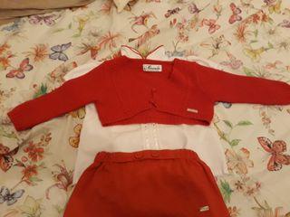 ropa bebé conjunto miranda 12 meses