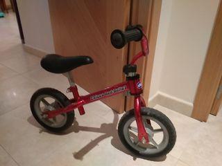 bicicleta Chicco sin pedales