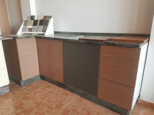 Muebles de cocina esquina de segunda mano por 500 € en Monforte de ...
