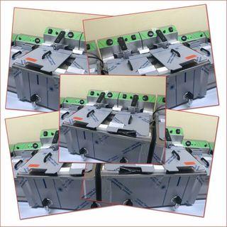 FREIDORA 4+7 litros La Bari