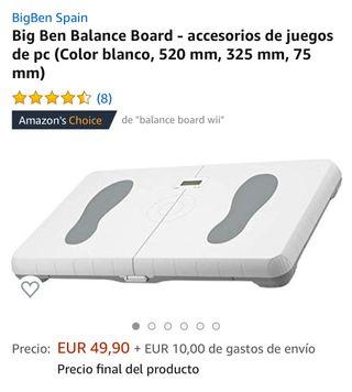 Balance Wii board ( negra)