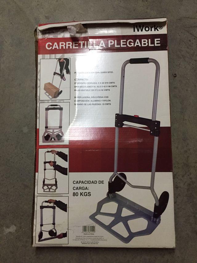 Carretilla plegable