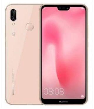 movil Huawei p20 lite rosa 4gram 64grom negociable