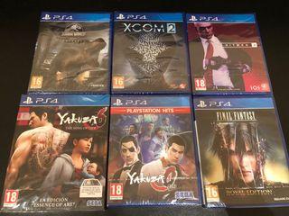 Juegos PS4 Precintados