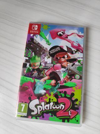 Splatoon 2 Nintendo Switch VENDO O CAMBIO