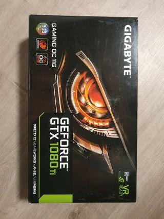Tarjeta gráfica Geforce GTX 1080 ti