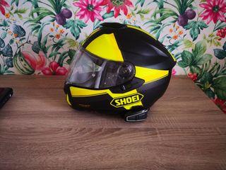 casco shoei gt air + cardo q1