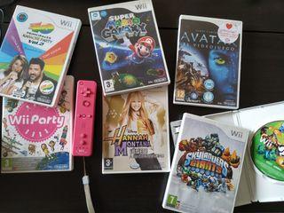 Lote juegos y accesorios para Wii