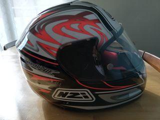 casco moto talla S