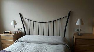 Cabecero de cama metalico
