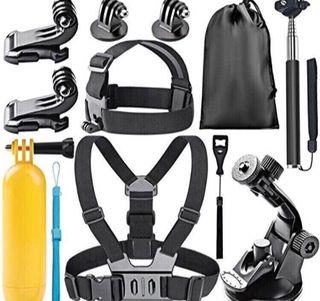 Kit de accesorios para cámara deportiva o Gopro