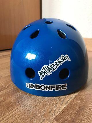 casco protector skate/bicicleta