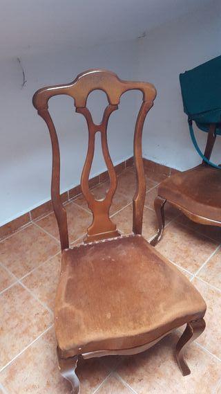sillas en buen estado