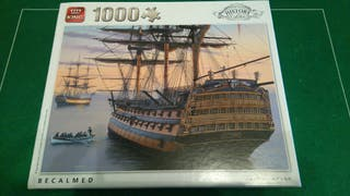 Puzzle naval 1000 Becalmed