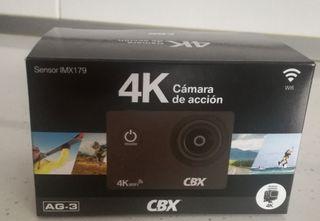 cámara con video 4k nueva