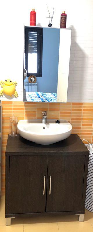 Mueble baño+Espejo