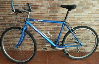 Bicicleta de montaña.