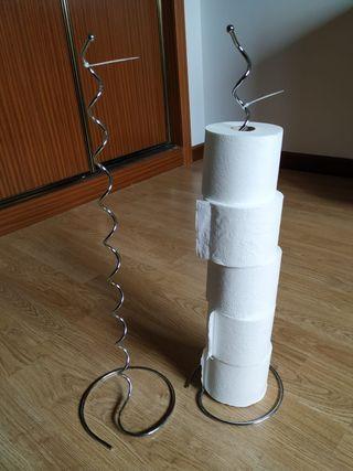 Portarrollo papel higiénico