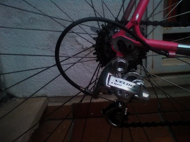 bicicleta carretera benotto