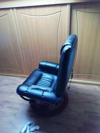 sillón más reposapies