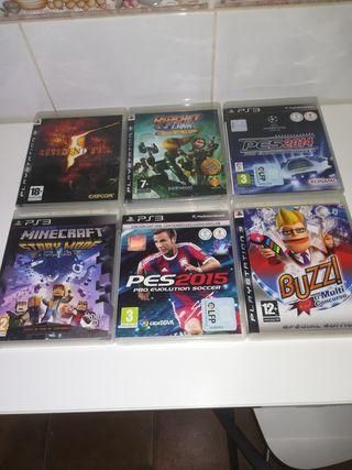 Juegos consola playstation 3.
