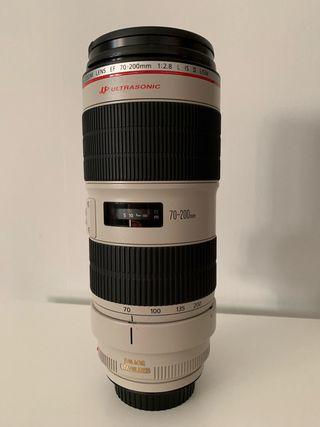 Objetivo Canon 70-200mm f2,8 L IS USM II