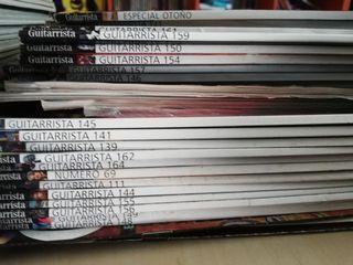 Revistas Guitarra total y Guitarrista