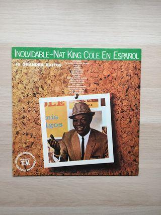 Vinilo Nat King Cole -Inolvidable-