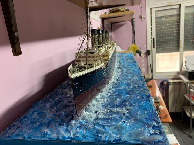 Maqueta titanic