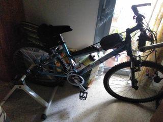 Vendo bicicleta+ rodillo de regalo