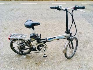 Monty ef-38 bicicleta electrica plegable