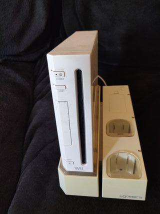 Nintendo Wii 19 juegos + muchos accesorios + chip