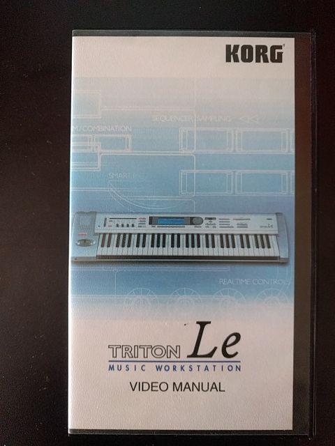 Korg Triton Le VHS Manual de segunda mano por 1 € en Fuenlabrada en