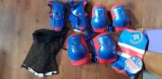 protecciones para patines infantil