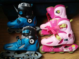 patines en línea.
