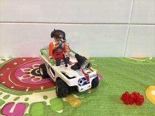 Coche recolector de minerales espaciales playmobil