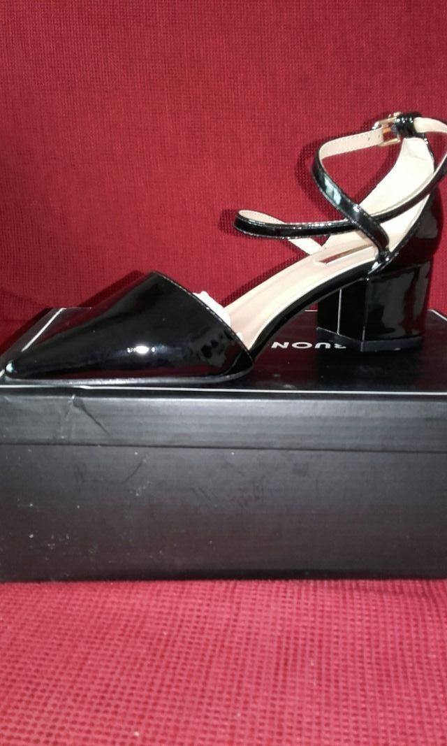 ff00fe5b Zapatos mujer negros pulsera tobillo de segunda mano por 10 € en ...