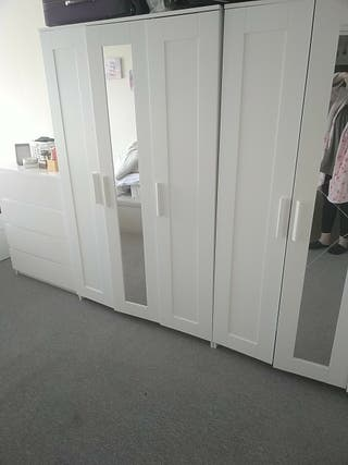 Ikea 3 door wardrobes (2)