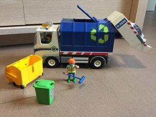 Playmobil camió escombraries
