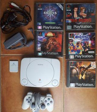 PS One + Juegos