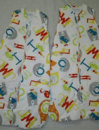 Dos sacos de dormir The Gro 2,5 Tog.