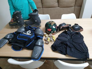 Patines Street Rollerblade G 43-44 kit completo