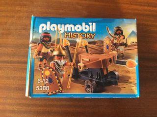 Playmobil 5388 Soldados egipcios y ballesta